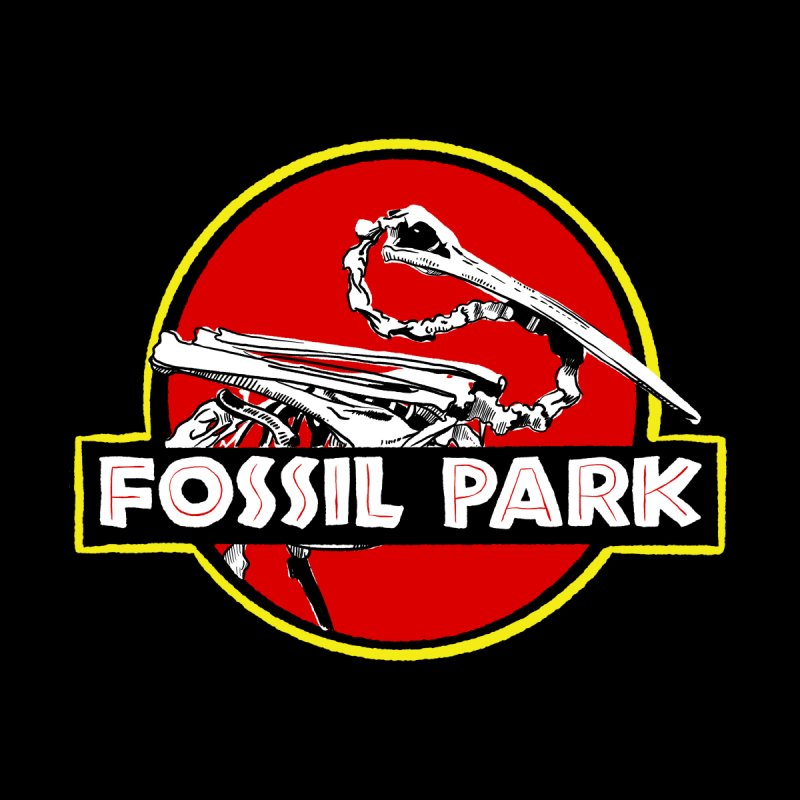 FOSSIL PARK Kids Toddler T-Shirt by I Love the Burg Swag