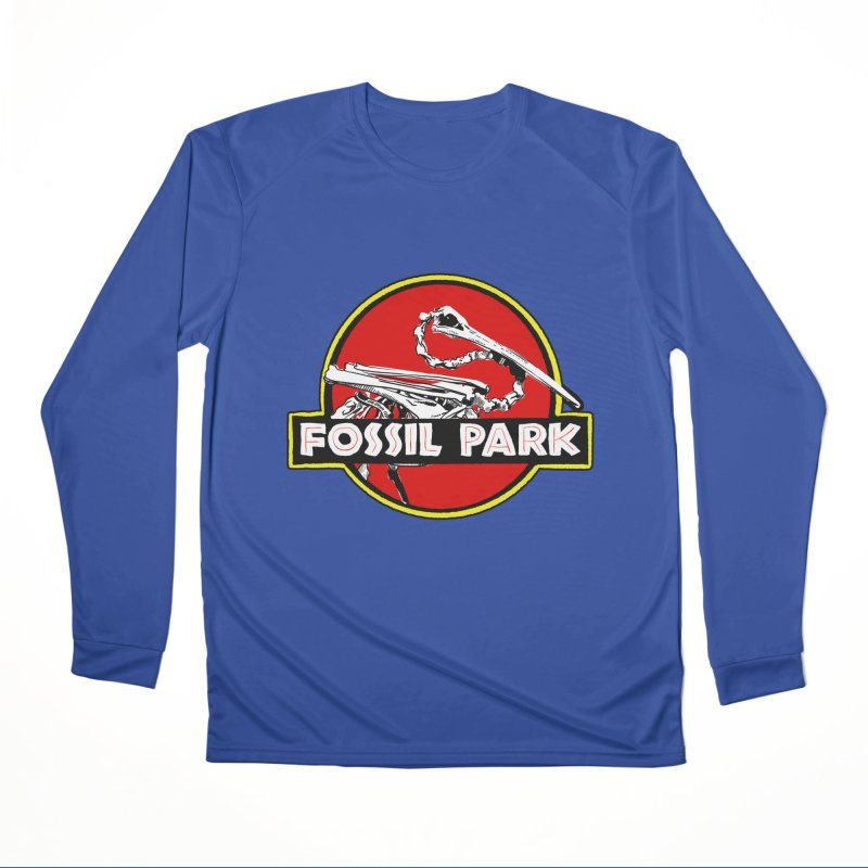 FOSSIL PARK Loose Fit - All Gender Longsleeve T-Shirt by I Love the Burg Swag