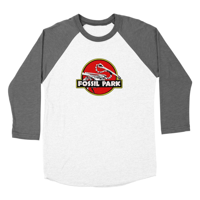 FOSSIL PARK Fitted - All Gender Longsleeve T-Shirt by I Love the Burg Swag