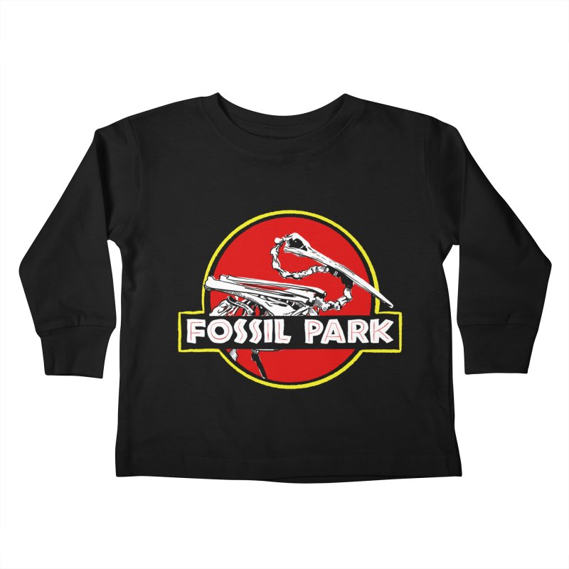 FOSSIL PARK Kids Toddler Longsleeve T-Shirt by I Love the Burg Swag