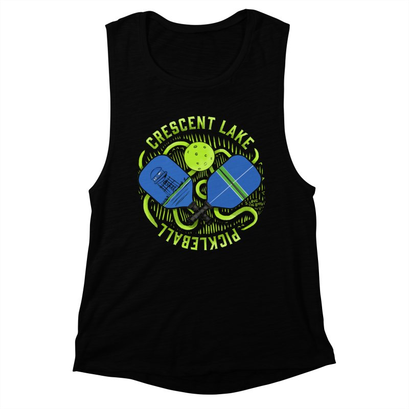 Saint Picklesburg Fitted - All Gender Tank by I Love the Burg Swag
