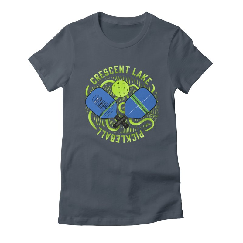 Saint Picklesburg Fitted - All Gender T-Shirt by I Love the Burg Swag