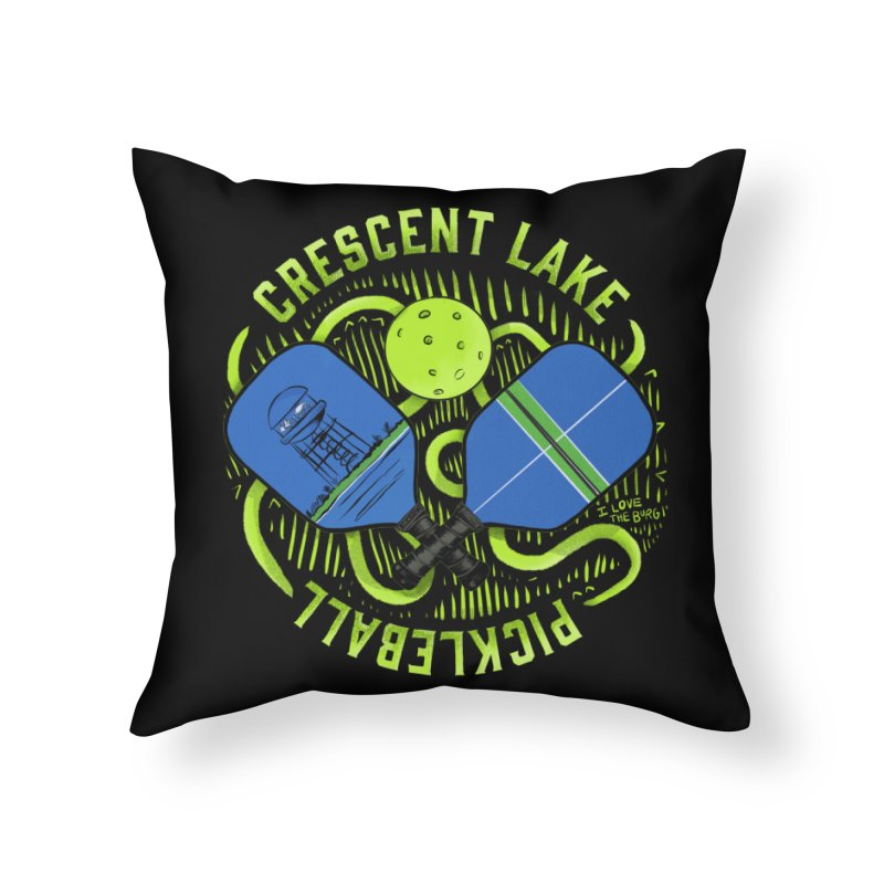 Saint Picklesburg Home Throw Pillow by I Love the Burg Swag
