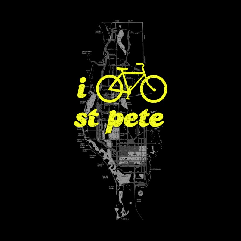 I Bike St. Pete Men's Longsleeve T-Shirt by I Love the Burg Swag