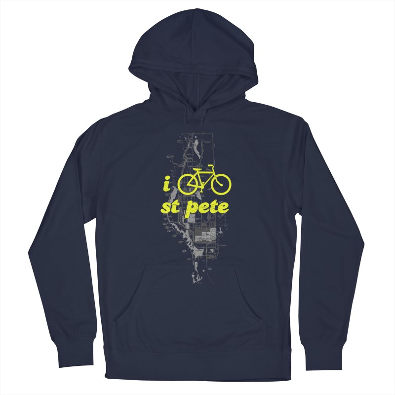 I Bike St. Pete Women's Pullover Hoody by I Love the Burg Swag
