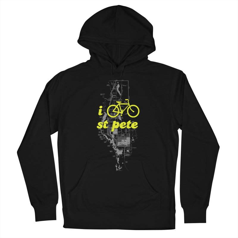 I Bike St. Pete Men's Pullover Hoody by I Love the Burg Swag