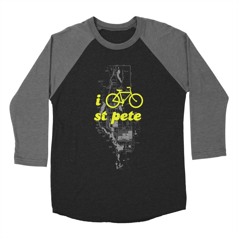 I Bike St. Pete Women's Longsleeve T-Shirt by I Love the Burg Swag