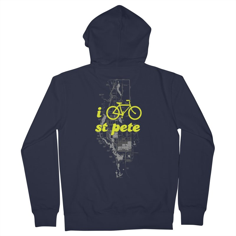 I Bike St. Pete Women's Zip-Up Hoody by I Love the Burg Swag