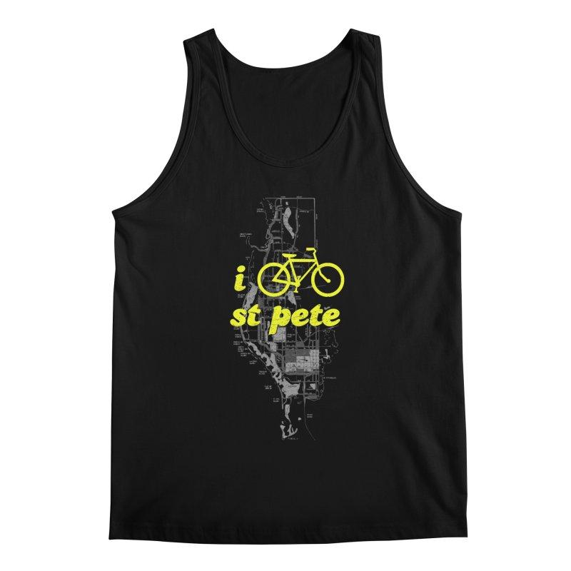 I Bike St. Pete Men's Regular Tank by I Love the Burg Swag