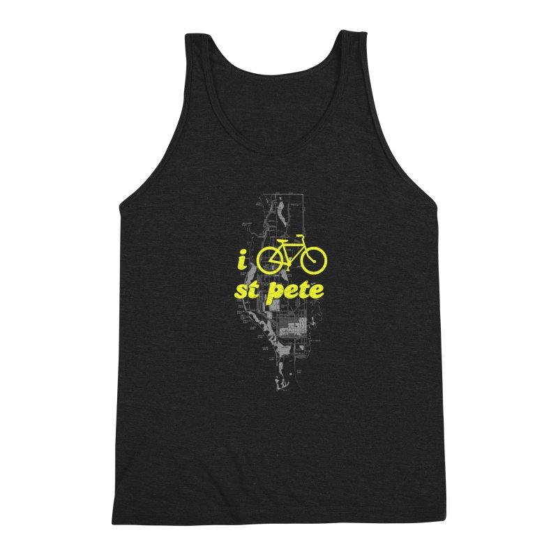 I Bike St. Pete Men's Tank by I Love the Burg Swag