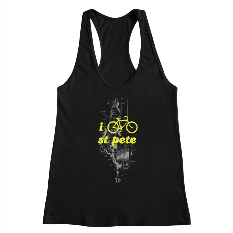 I Bike St. Pete Women's Tank by I Love the Burg Swag