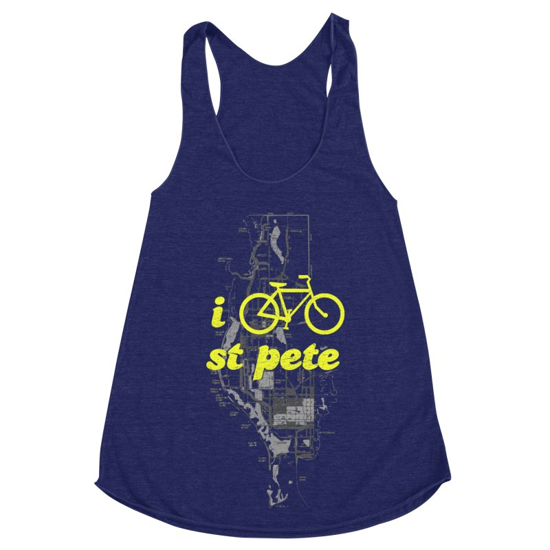 I Bike St. Pete Women's Tank by I Love the Burg Swag