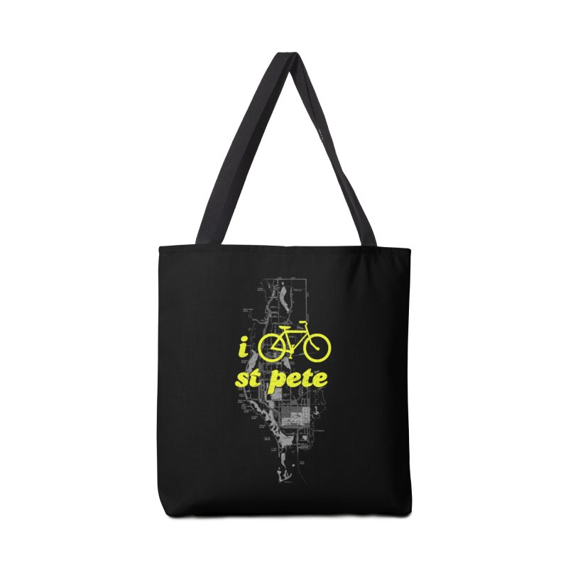 I Bike St. Pete Accessories Tote Bag Bag by I Love the Burg Swag