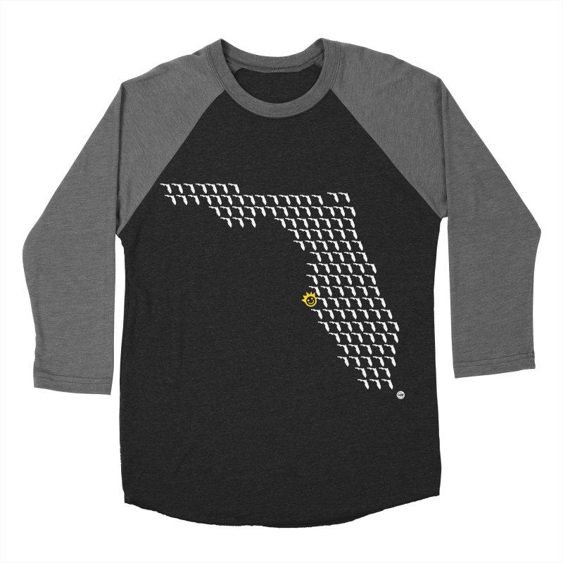 Sunshine City Classic Men's Baseball Triblend T-Shirt by I Love the Burg Swag