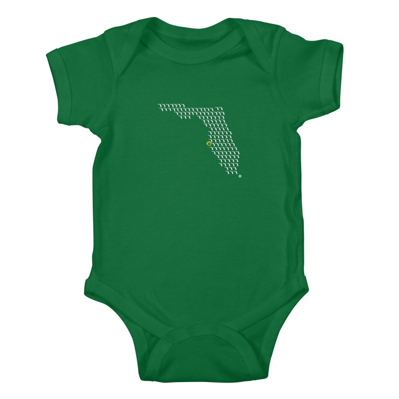 Sunshine City Classic Kids Baby Bodysuit by I Love the Burg Swag
