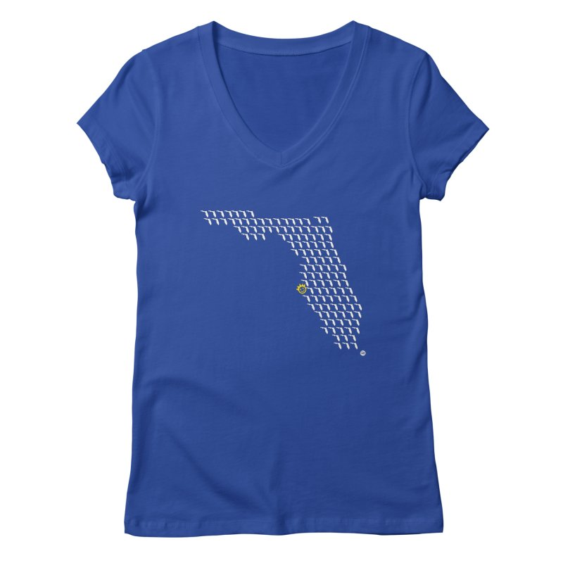 Sunshine City Classic Women's V-Neck by I Love the Burg Swag