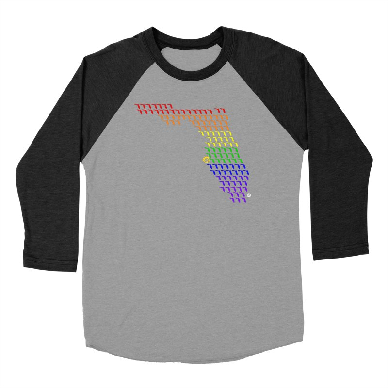 Sunshine City - PRIDE Edition Men's Baseball Triblend Longsleeve T-Shirt by I Love the Burg Swag
