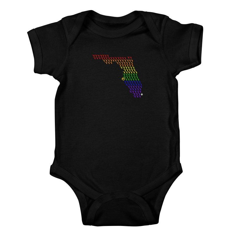 Sunshine City - PRIDE Edition Kids Baby Bodysuit by I Love the Burg Swag