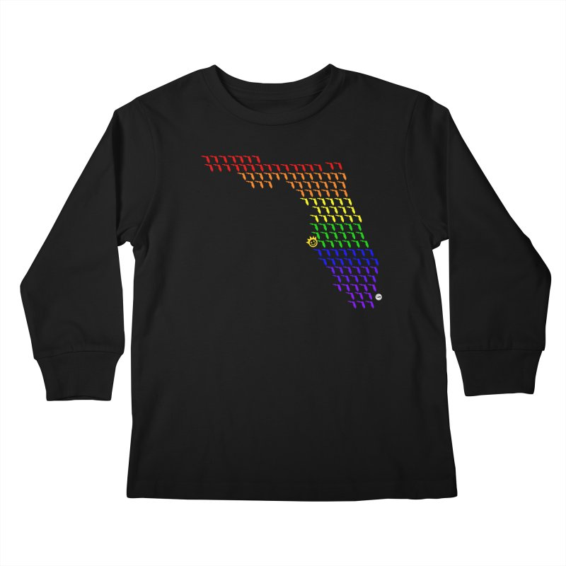 Sunshine City - PRIDE Edition Kids Longsleeve T-Shirt by I Love the Burg Swag