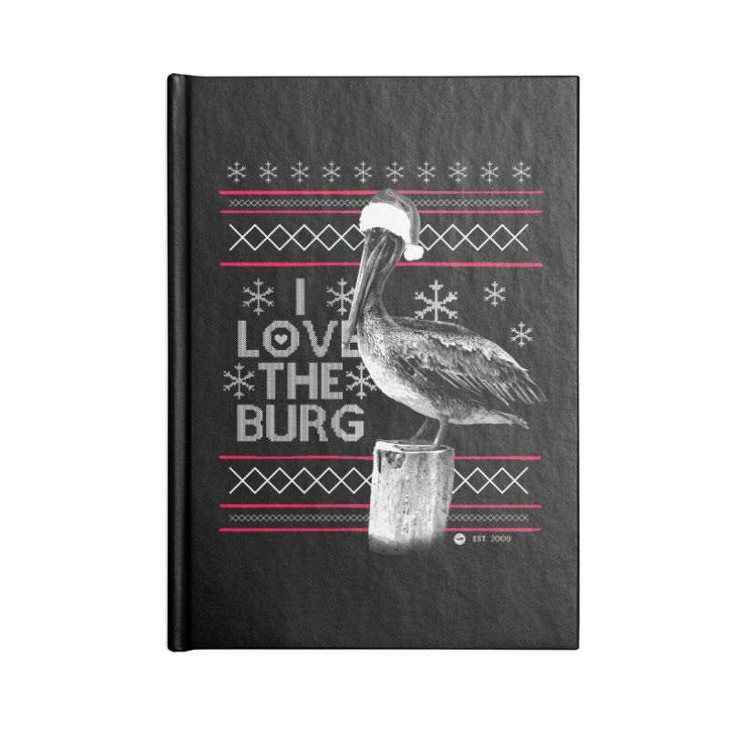 The St. Pete Ugly Sweater Accessories Notebook by I Love the Burg Swag