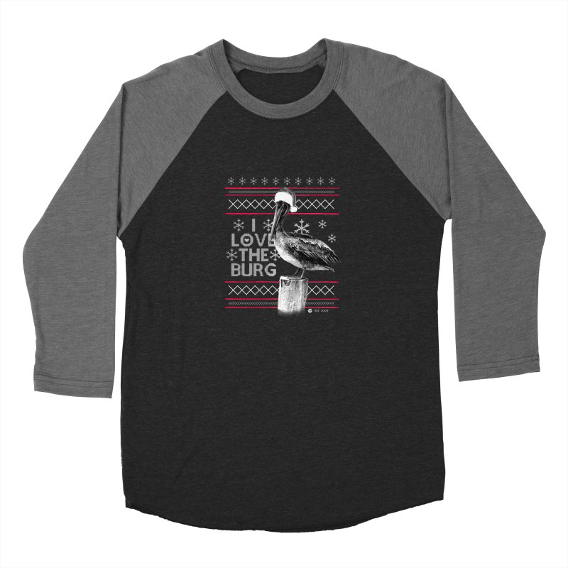 The St. Pete Ugly Sweater Loose Fit - All Gender Longsleeve T-Shirt by I Love the Burg Swag