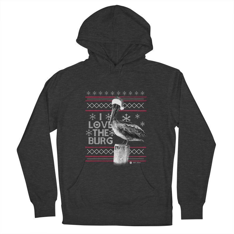 The St. Pete Ugly Sweater Men's French Terry Pullover Hoody by I Love the Burg Swag