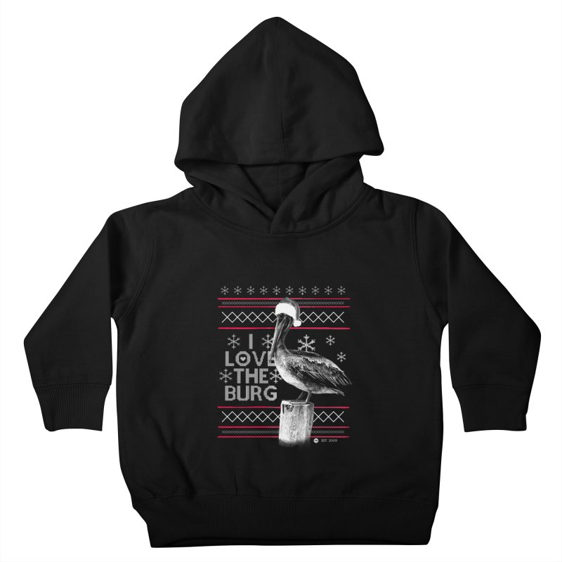 The St. Pete Ugly Sweater Kids Toddler Pullover Hoody by I Love the Burg Swag
