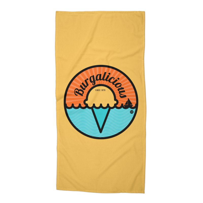 Burgalicious Accessories Beach Towel by I Love the Burg Swag