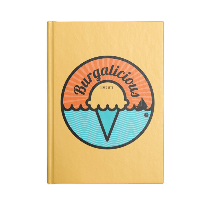 Burgalicious Accessories Notebook by I Love the Burg Swag