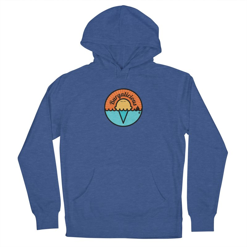 Burgalicious Loose Fit - All Gender Pullover Hoody by I Love the Burg Swag