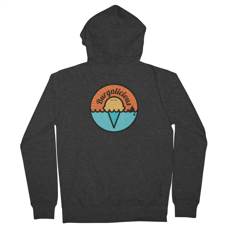 Burgalicious Women's French Terry Zip-Up Hoody by I Love the Burg Swag