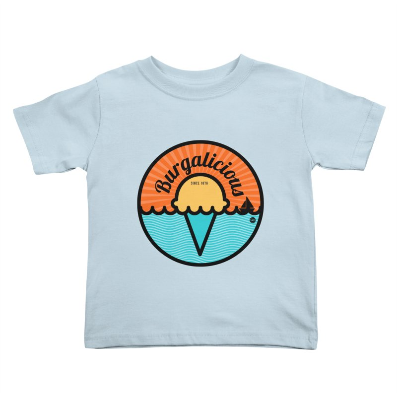 Burgalicious Kids Toddler T-Shirt by I Love the Burg Swag