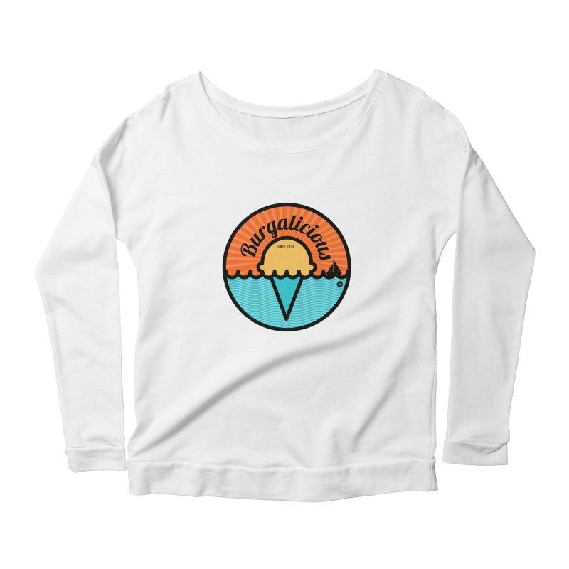 Burgalicious Women's Longsleeve T-Shirt by I Love the Burg Swag