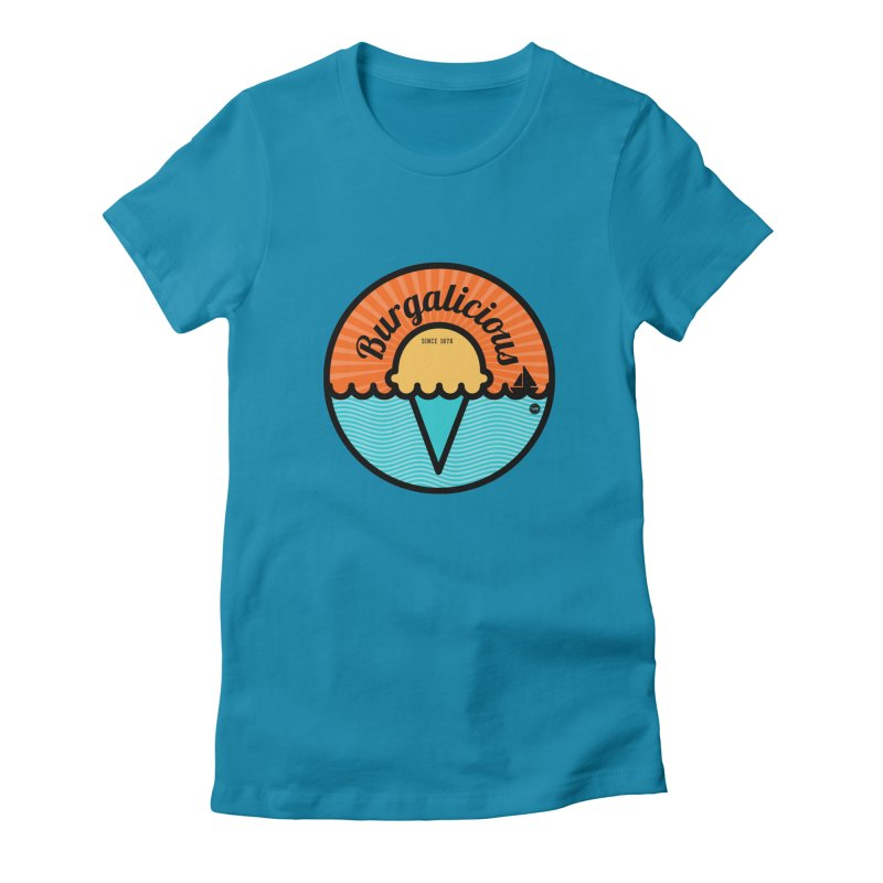 Burgalicious Women's T-Shirt by I Love the Burg Swag