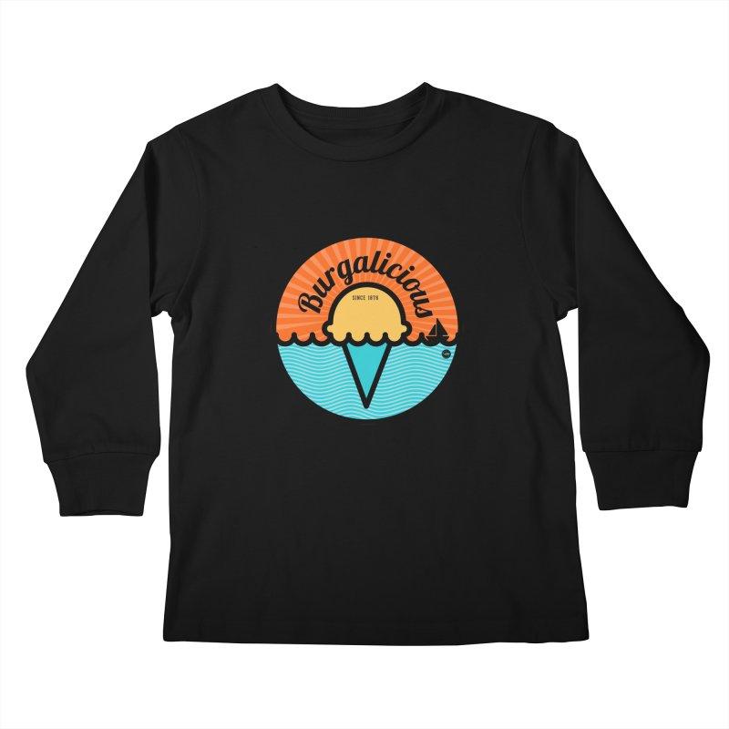 Burgalicious Kids Longsleeve T-Shirt by I Love the Burg Swag