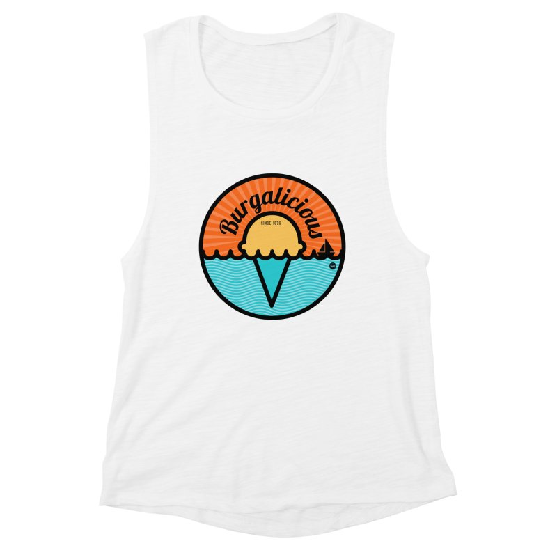 Burgalicious Women's Muscle Tank by I Love the Burg Swag