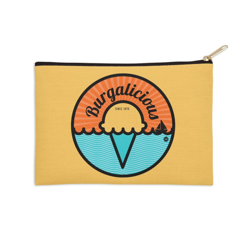 Burgalicious Accessories Zip Pouch by I Love the Burg Swag