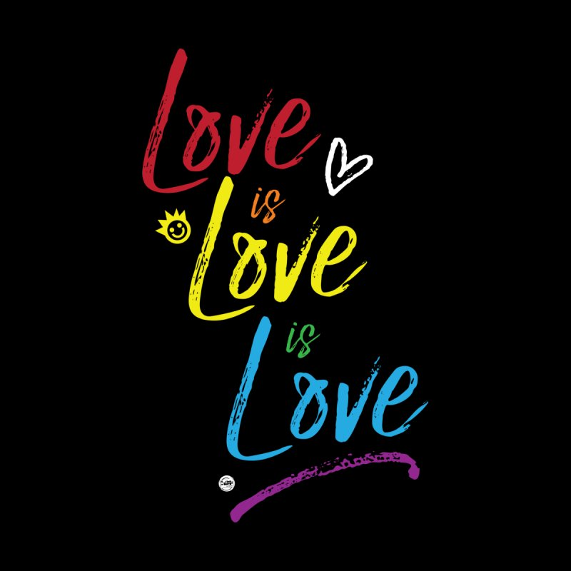 Love is Love is Love Accessories Phone Case by I Love the Burg Swag