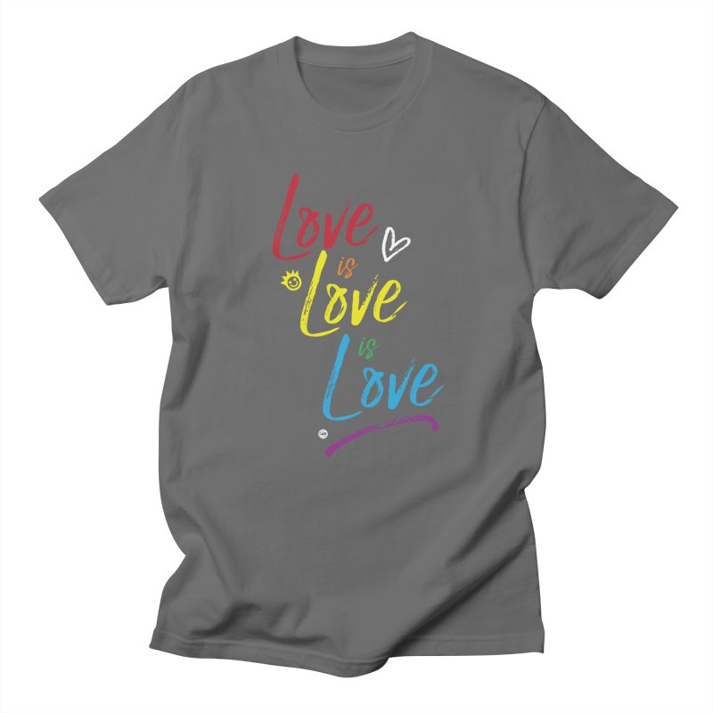 Love is Love is Love Men's T-Shirt by I Love the Burg Swag