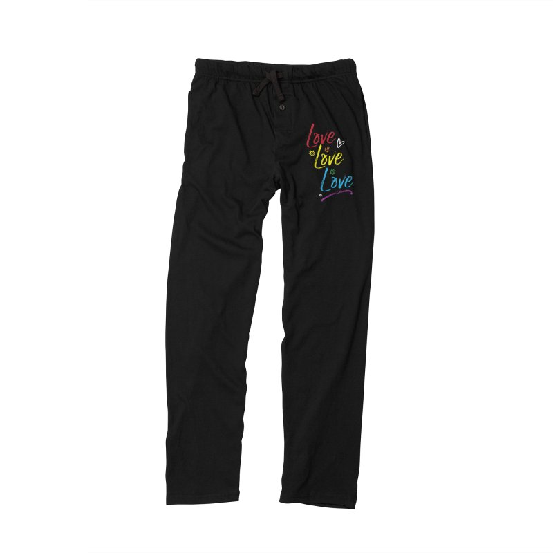Love is Love is Love Women's Lounge Pants by I Love the Burg Swag