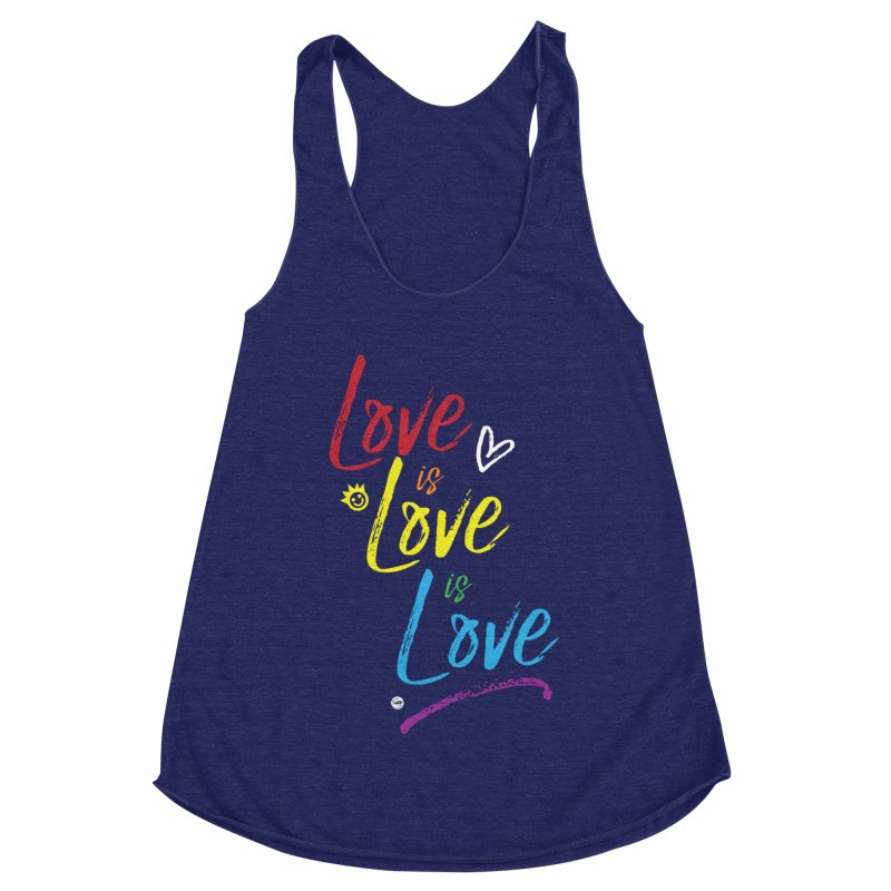 Love is Love is Love Women's Tank by I Love the Burg Swag