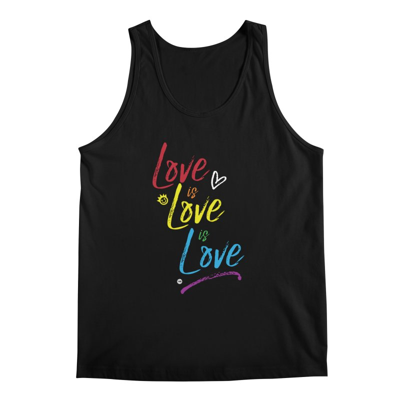 Love is Love is Love Men's Regular Tank by I Love the Burg Swag