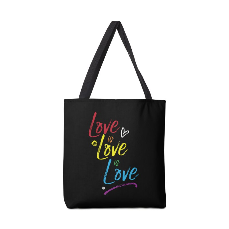 Love is Love is Love Accessories Bag by I Love the Burg Swag