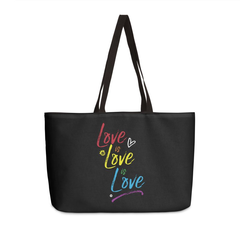 Love is Love is Love Accessories Weekender Bag Bag by I Love the Burg Swag