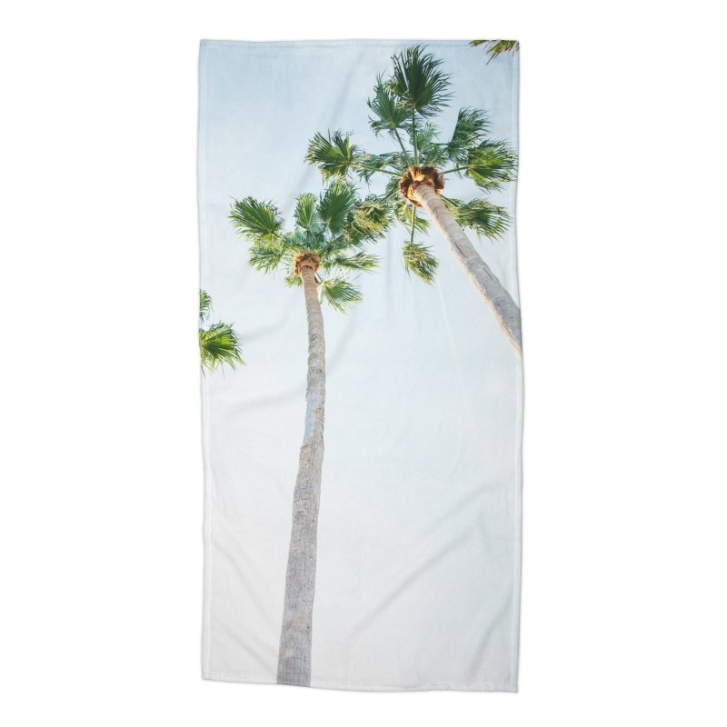 PALM TREES | ST. PETE, FL Accessories Beach Towel by I Love the Burg Swag