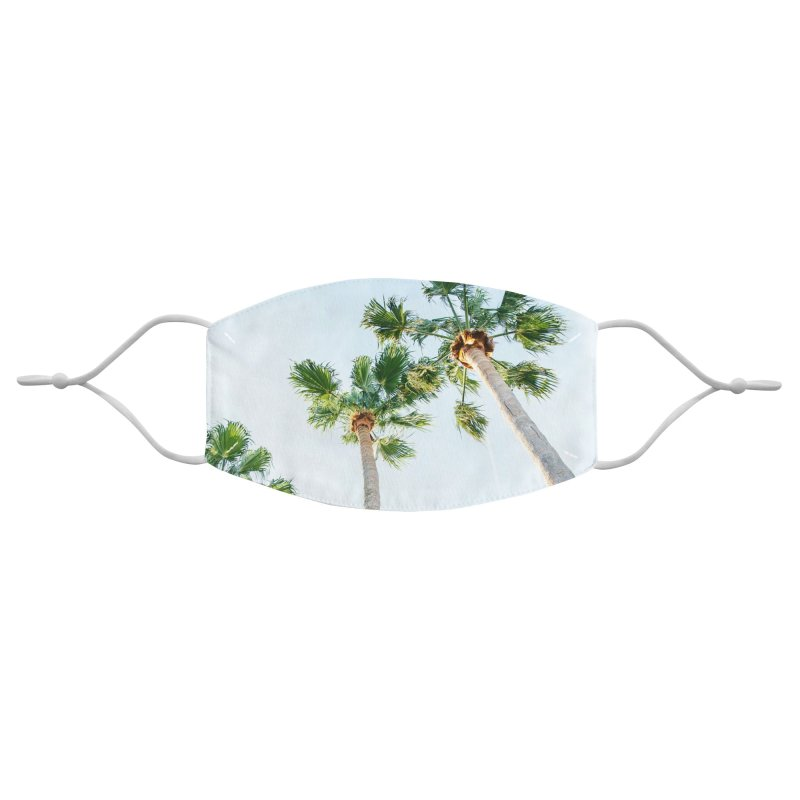 PALM TREES   ST. PETE, FL Accessories Face Mask by I Love the Burg Swag