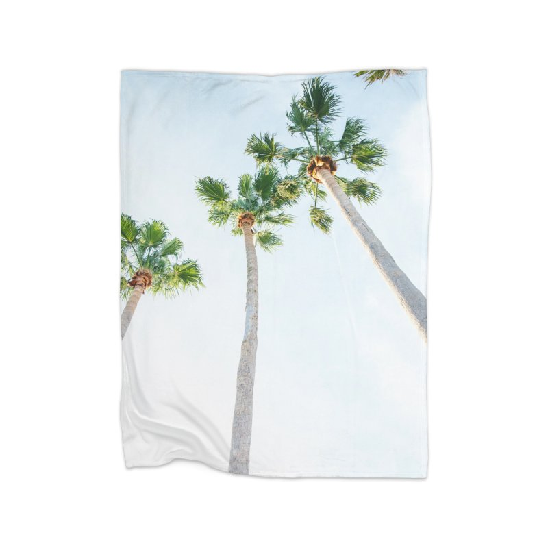 PALM TREES | ST. PETE, FL Home Blanket by I Love the Burg Swag