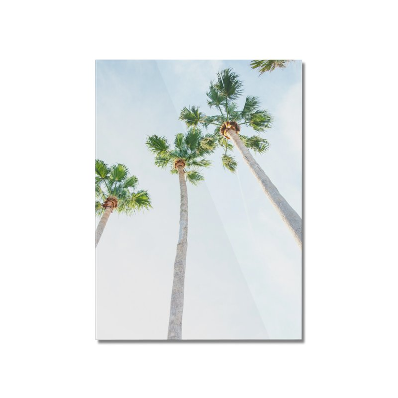 PALM TREES | ST. PETE, FL Home Mounted Acrylic Print by I Love the Burg Swag