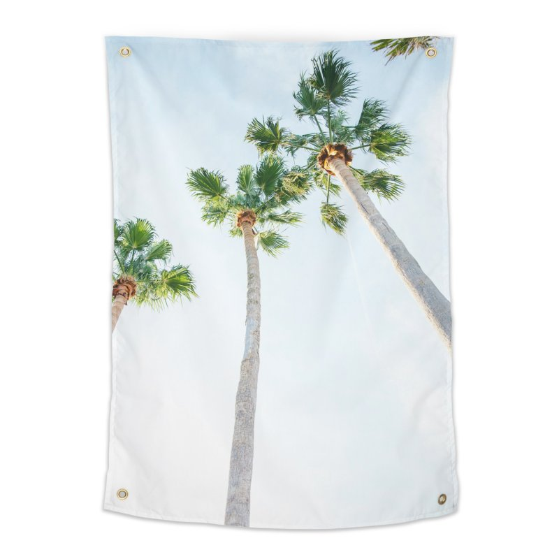 PALM TREES   ST. PETE, FL Home Tapestry by I Love the Burg Swag