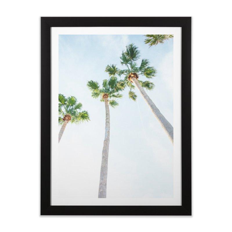 PALM TREES | ST. PETE, FL Home Framed Fine Art Print by I Love the Burg Swag